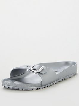 Birkenstock Madrid Lightweight Eva Fit Flat Sandals Silver