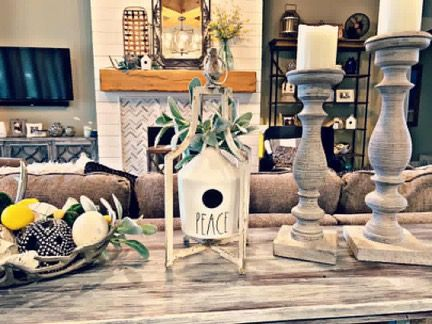 Hobby Lobby Birdhouse Stand Decor
