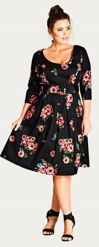 39 Plus Size Spring Wedding Guest Dresses {with Sleeves | Plus Size ...