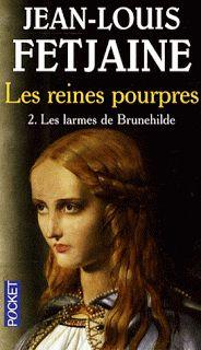 Les reines pourpres de Jean-Louis Fetjaine: 1 Les voiles de Frégégonde, 2: Les larmes de Brunehilde.- BRUNEHILDE. 3)HISTORIOGRAPHIE, 3.1 BRUNEHAUT/BRUNEHILDE, 3: Cepandant les autres historiens francophones comme Bruno Dumézil conservent la forme traditionnelle pour la distinguer du personnage mythologique, la valkyrie Brunehilde.