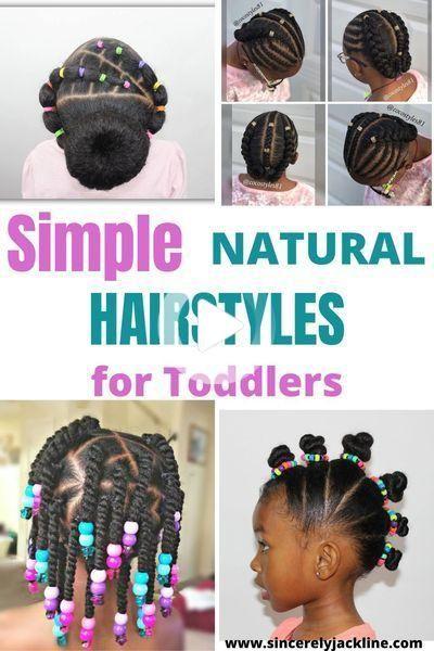 Coiffures Naturelles Super Faciles Pour Les Enfants Coiffure Naturelle Coiffures Pour Enfant Cheveux De Petites Filles
