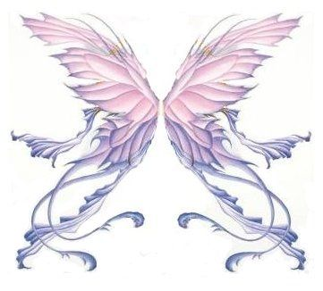 wings tattoo photo: Wings Angle_Wings_by_underwaterchicken. Angle Wing Tattoos, Fairy Wing Tattoos, Gothic Fairy Tattoo, Angel Wings Tattoo On Back, Tattoo Wings, Engel Tattoo, Fairy Tattoo Designs, Wing Tattoo Designs, Wings Design