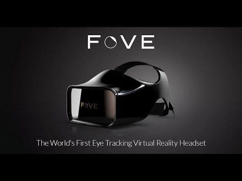 FOVE: The World's First Eye Tracking virtual reality headset #SAObegins