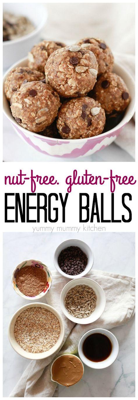 Nut-Free No-Bake Energy Balls