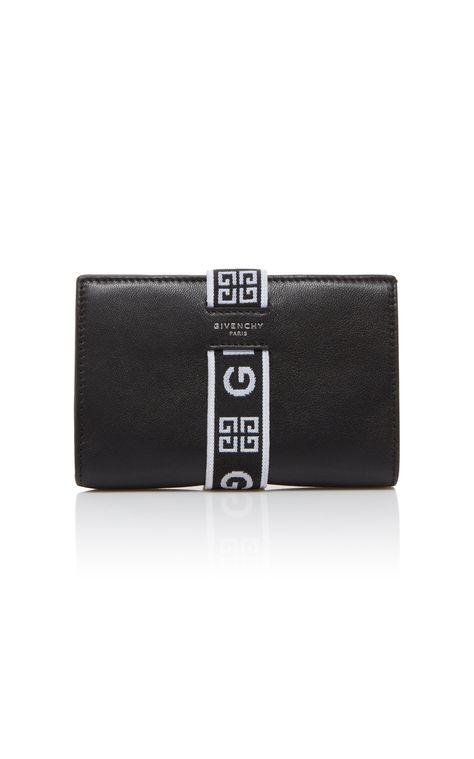 Givenchy Urban Medium Logo Strap Wallet