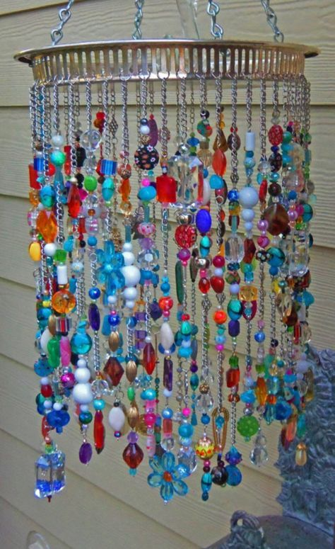 47 Beautiful Beaded Wind Chime To Add Sparkle To The Garden Diy