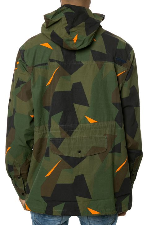 7daystheory: RockSmith // The Geometry Anorak in Woodland