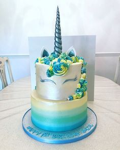 Pin by Kristina on Unicorn cake 2019 in 2019