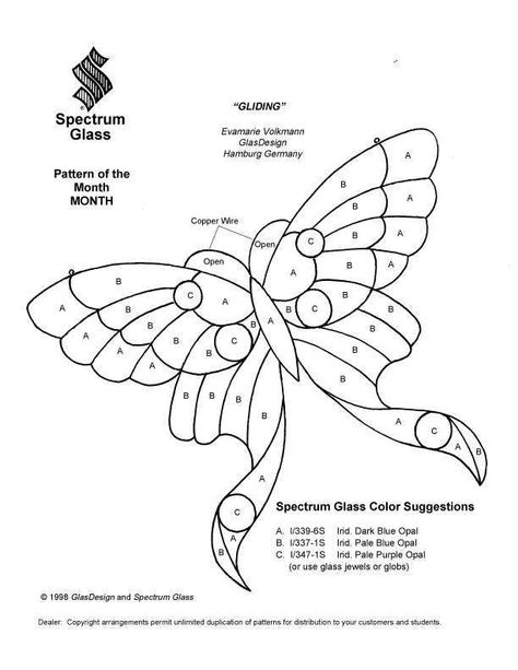 stained glass patterns for free 993 butterfly