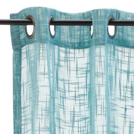 Home Scandinavian Minimalism Simple Curtains Open Weave