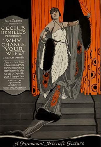Why Change Your Wife? (1920) Thomas Meighan, Gloria Swanson, Bebe Daniels | Your  wife, Silent movie, You changed