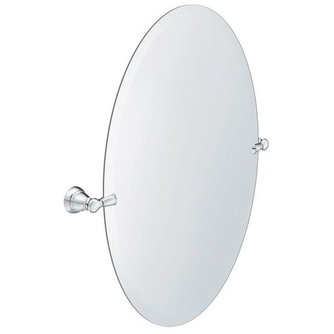 Moen Banbury 23 In X 26 In Frameless Pivoting Single Wall Mirror
