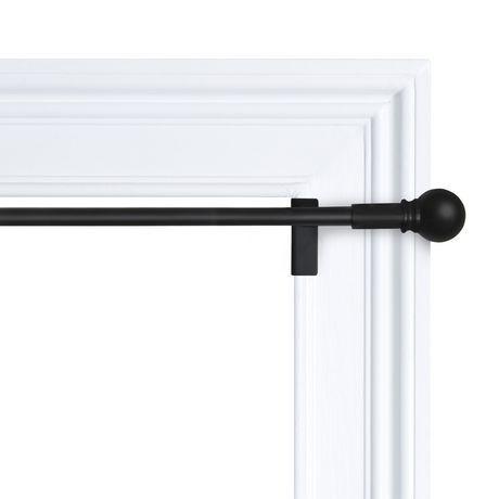 Amazon Com Briofox Shower Curtain Rod 42 72 Inches Black Never