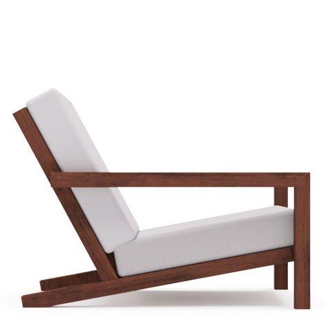 Luxe Lounge Stoel.Luxe Design Lounge Stoel Voor In De Tuin Bouwtekening Bouwplan