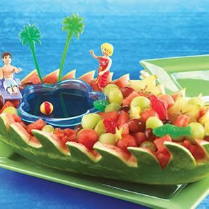beach party food | How to choose a watermelon