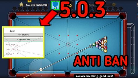 Pin On Aim Tool 8 Ball Pool