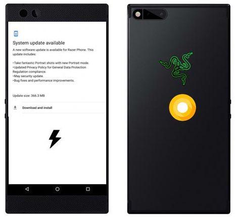 Razer Phone May 2018 Oreo 8 1 Firmware Official Installation
