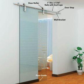 The Skyline Single Glass Door Kits Barndoor Glass Doors Interior Sliding Doors Interior Barn Doors Sliding