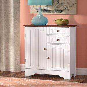 Beachcrest Home Emmaline Wood Storage 2 Door Accent Cabinet Wayfair Accent Doors Accent Cabinet Wood Storage