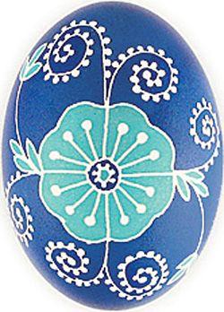 Pysanka with bird motif from Ukrainian Gift Shop | Easter ...
