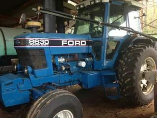 Ford Wiring Diagram on ford 8630 parts, ford 8630 brake system, ford 8630 tractor,