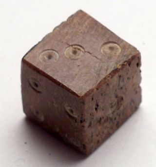100ad Authentic Ancient Roman Gambling Die (part Of Dice