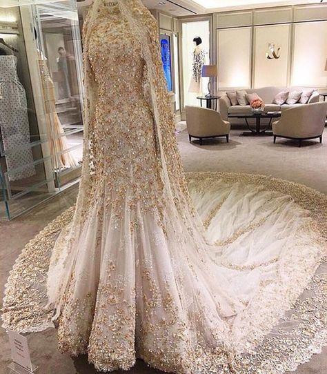 New Luxury White/Ivory Wedding Dress Bridal Ball Gown Custom Size 6 8 10 12 14