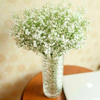 Details About Artificial Baby S Breath Gypsophila Silk Flowers Bouquet I5e1 Wedding Party V1d3 In 2020 Flower Bouquet Wedding Wedding Party Bouquets Bouquet Home Decor