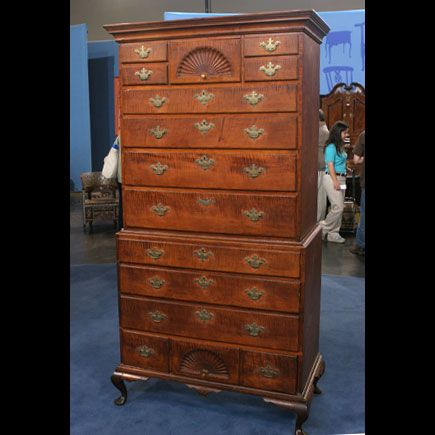 New Hampshire, Chest on Chest, made by the Dunlap furniture makers, circa  1770 | Period Furniture Ideas | Pinterest | Antique furniture, Antiques  roadshow ... - New Hampshire, Chest On Chest, Made By The Dunlap Furniture Makers
