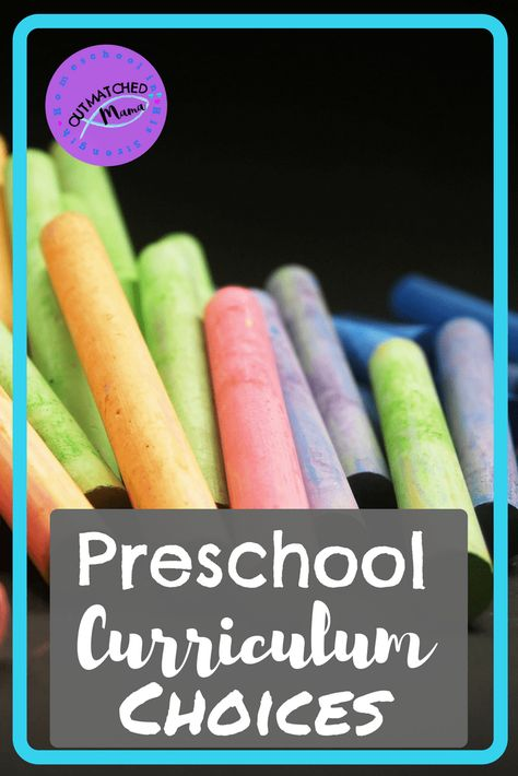 Our Preschool Curriculum Choices - The Outmatched Mama