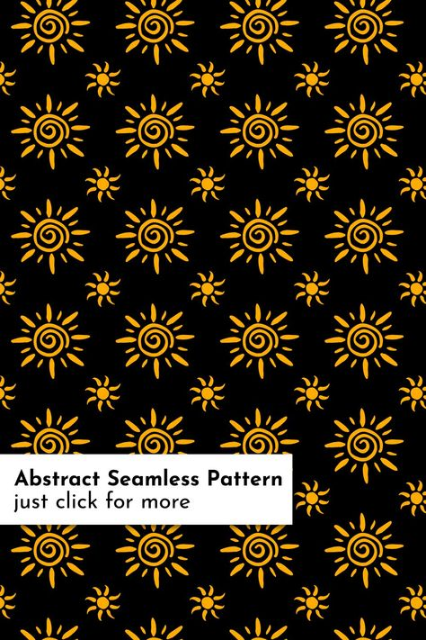 Sun Patterns Bundle Pattern Doodle Patterns Seamless Patterns