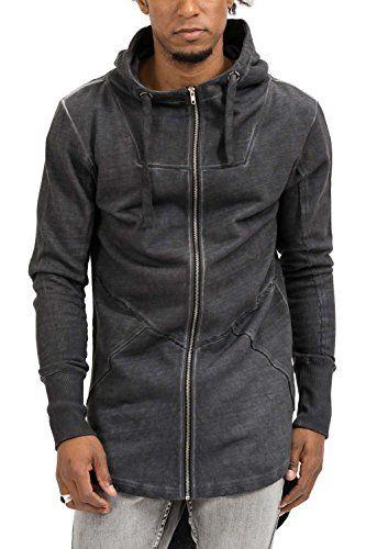 trueprodigy Casual Hombre marca Sudadera Zip basico ropa