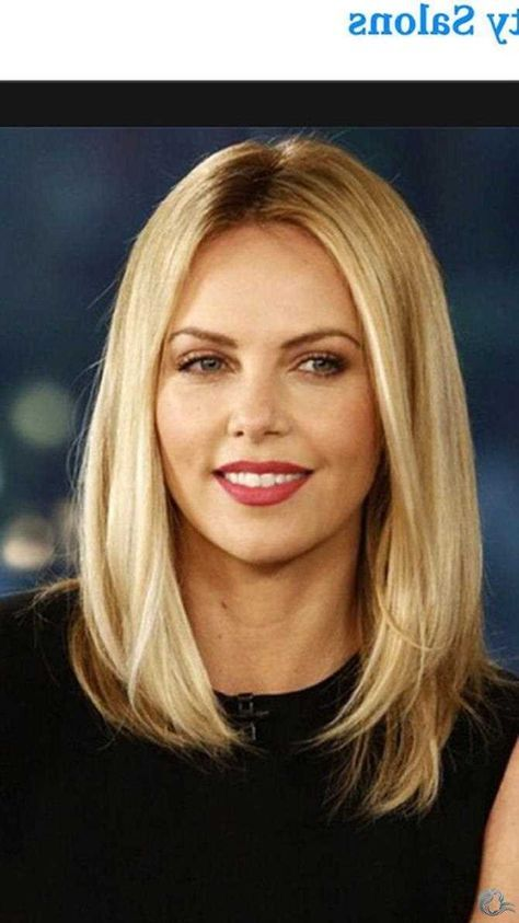 Straight Hair Round Face Straight Hair Long Layered Hairstyles 68