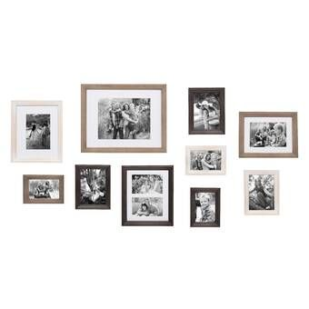 Joss Main Essentials 7 Piece Perfect Wall Picture Frame Set Reviews Joss Main Gallery Wall Kit Gallery Wall Frames White Picture Frame Set