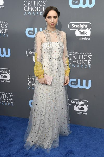 Zoe Kazan in Valentino - The Most Daring Dresses at the 2018 Critics' Choice Awards - Photos