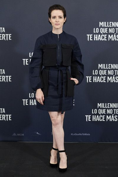 Claire Foy Photos Photos The Girl In The Spider S Web Madrid