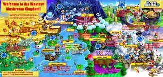super mario bros u deluxe map