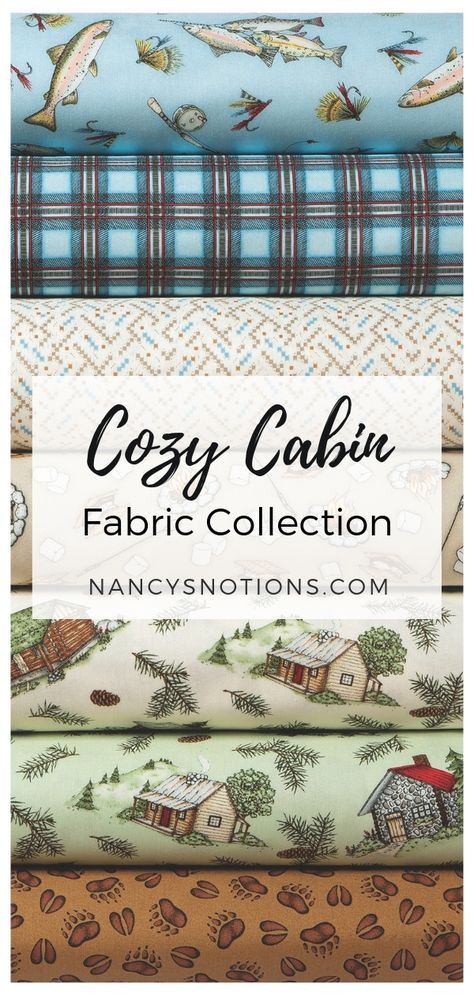 Cozy Cabin Fabric Collection Fabric Collection Cozy Cabin Fabric