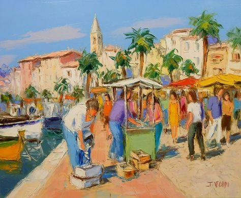 Galerie De Tableau 3 5 Peinture Peinture Au Couteau Promenade