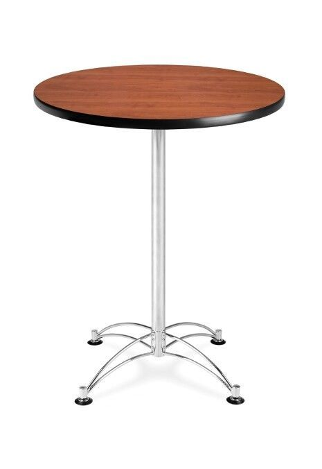 Details About 30 Inch Rd Cafe Table Chrome Base Bar Furniture