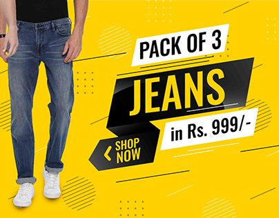 Check Out New Work On My Behance Portfolio Jeans Banner Http