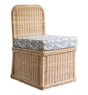 Chatham Slipper Chair Woman Bedroom Custom Cushions Chair