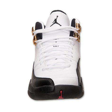 info for a5413 36d8e Boys  Grade School Air Jordan Retro 12 Basketball Shoes ( 75) ❤ liked on