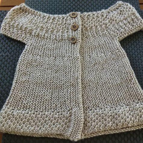 f2270c4c31b89 Baby angel top Knitting pattern by OGE Knitwear Designs