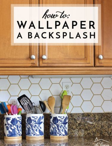 Hit Or Miss Renter Friendly Walls Wallpaper Backsplash Kitchen Kitchen Design Diy Backsplash Wallpaper