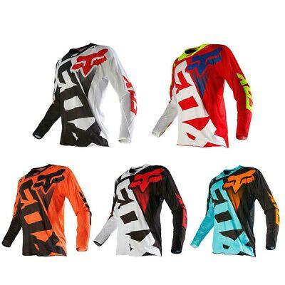 NEW fox Racing Jersey Shirt Motocross MX ATV Riding Gear Cycling Jersey