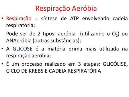 Respiracao Aerobia Respiracao Sintese De Atp Envolvendo Cadeia Respiratoria Pode Ser De 2 Tipos Aer Ciclo De Krebs Planos De Estudo Enem Respiracao Celular