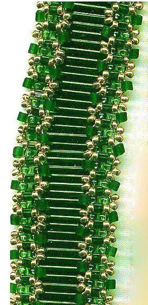 Beaded Bugle Bracelet PATTERN