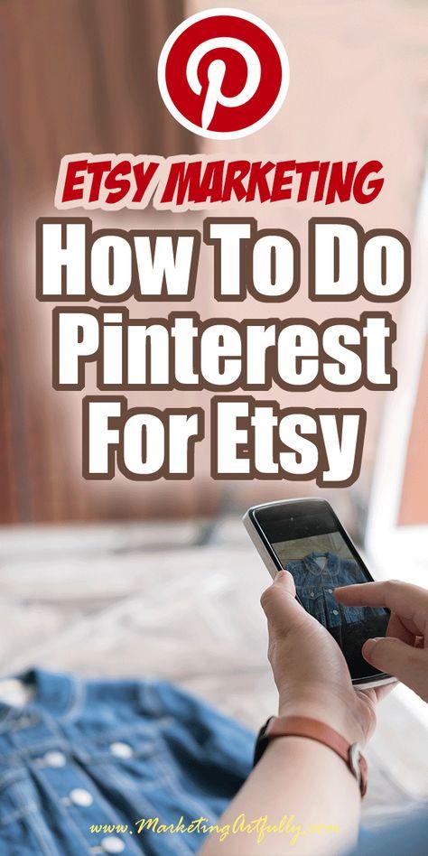 Doing Pinterest For Etsy Sellers
