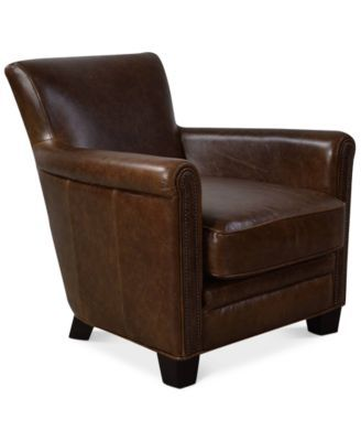 Swell Norwell Leather Chair Macys Com For The Home Chair Pabps2019 Chair Design Images Pabps2019Com